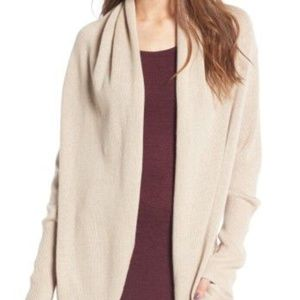 Sweaters - Nordstrom Leith Easy Circle Cardigan in Cream S